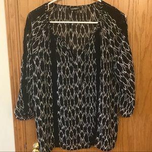 EXPRESS 3/4 length sleeve shirt
